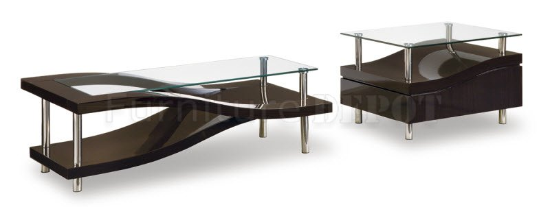 Espresso Coffee Table With Glass Top Incredible Glass Top Table Designs For You To Enjoy Your Coffee Contemporary Decor On Table Design Ideas (Image 5 of 9)