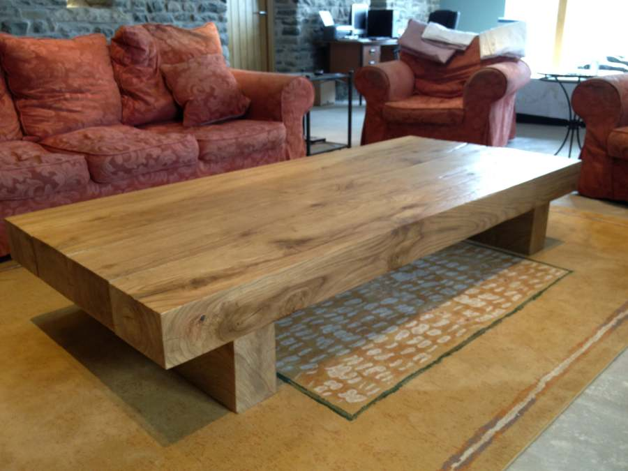 Extra Large Coffee Table From Tarzan Table A 4 Beam Arabica 2m Long Rustic Style (Image 2 of 10)