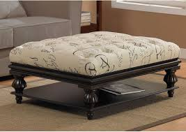 Fabric-Ottoman-Coffee-Table-The-glass-tabletop-on-the-other-hand-create-and-elegant-feel-of-the-table (Image 7 of 17)