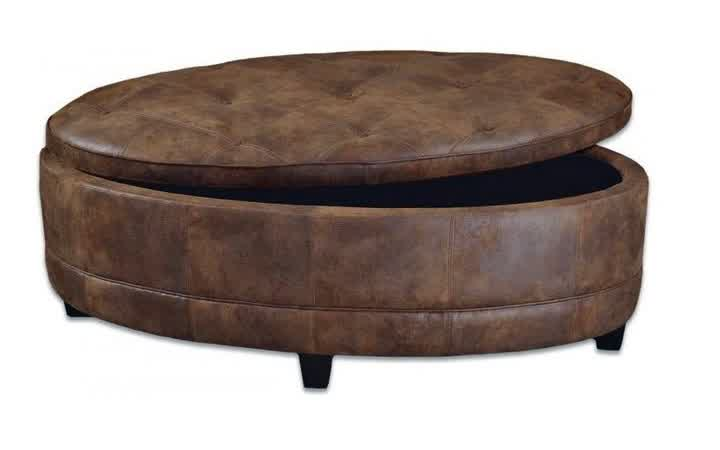 Fabric Ottomans With StorageModern Wood Coffee Table Reclaimed Metal Mid Century Round Natural Diy Padded Large Leather Storage Ottoman Large Leather Unique Ottoman (Image 2 of 10)