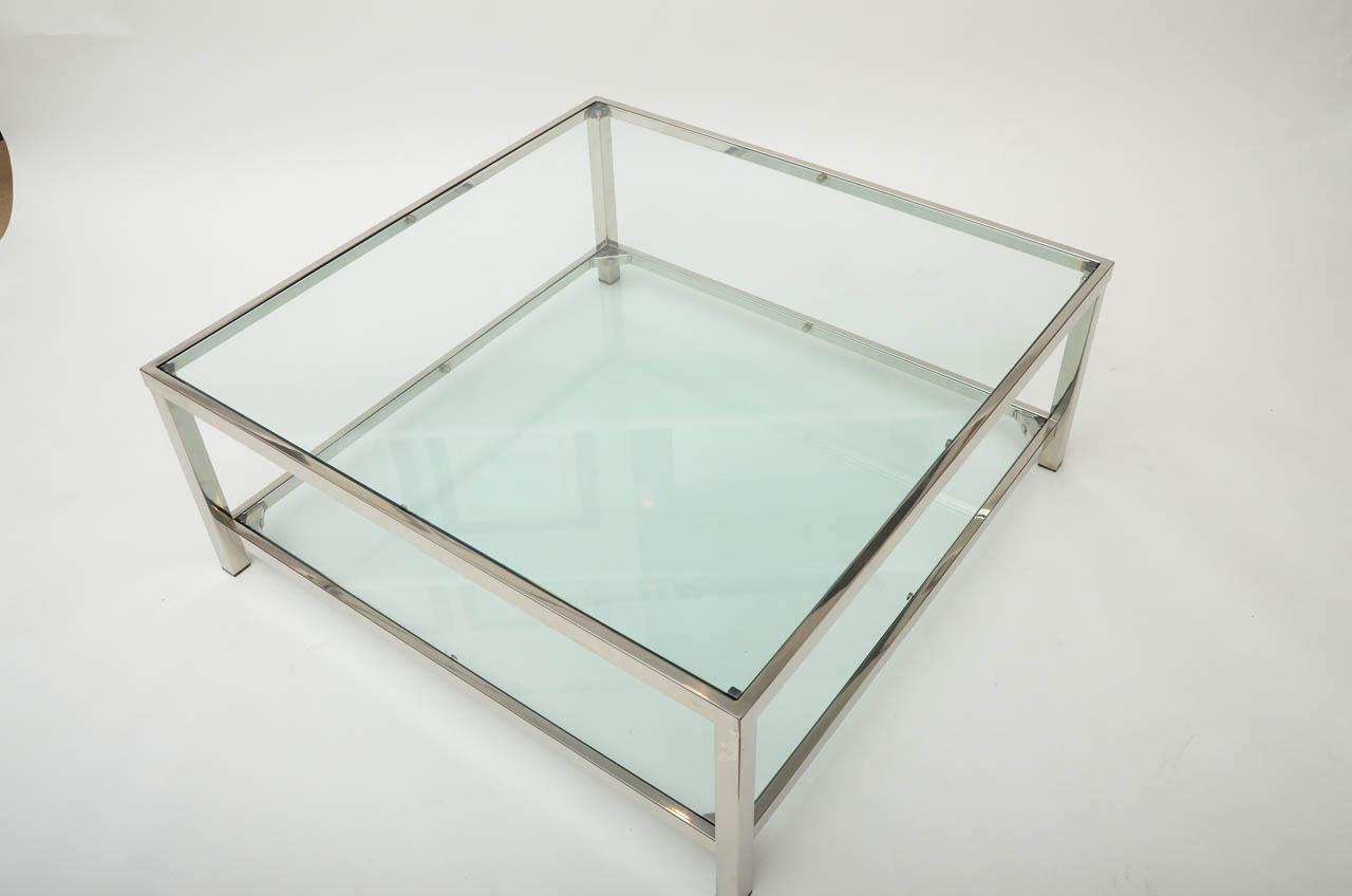 Geo-Glass-Coffee-Table-glass-rectangular-coffee-table-with-shelf-on-Furniture-Design-Ideas-from-glass-coffee-tables-and-end-tables (Image 2 of 10)
