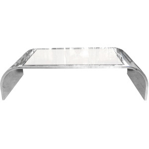 Glass Chrome Coffee Table Coffee Table Becomes The Supporting Furniture That Will Make Your Room Greater Is Usually In Small Size With Variation On The Design An (Image 2 of 10)