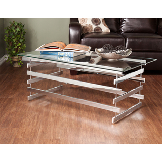 Glass Chrome Coffee Table Console Tables All Narcissist And Nemesis Family Related How To Decorate Your Living Room (Image 3 of 10)