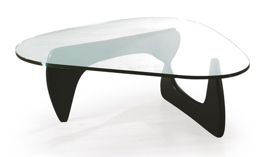 Glass Coffee Table Contemporary Furniture Inspiration Ideas Simple And Neat Look The Shelf Underneath Is For Magazines (Image 5 of 10)