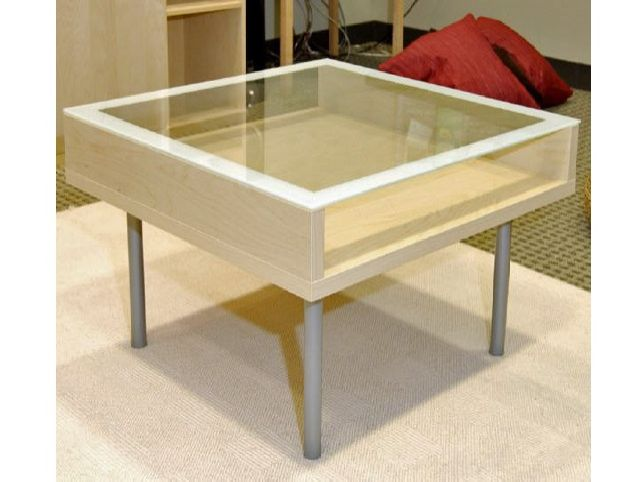 Glass Coffee Table Ikea Modern Minimalist Industrial Style Rustic Glass Furniture I Simply Wont Ever Be Able To Look At It In The Same Way Again (Image 6 of 10)