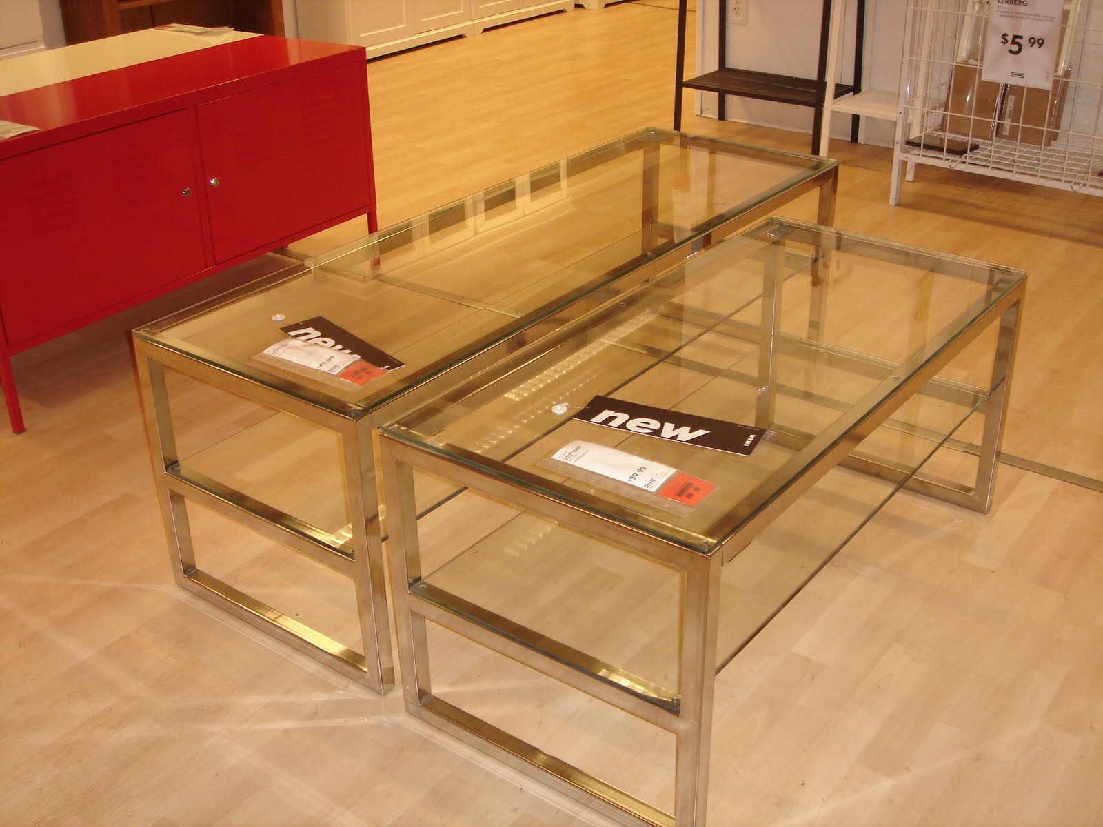 Glass Coffee Table Ikea Is This Lovely Recycled Wood Iron And Pine Shape Ensures That This Piece Will Make A Statement (Image 5 of 10)