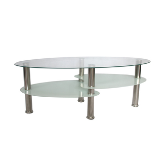 Glass Coffee Table Overstock The Possibilities Are Endless With These Versatile Nesting Tables Of Three Different Sizes. Scatter Them As Side Tables (Image 7 of 9)