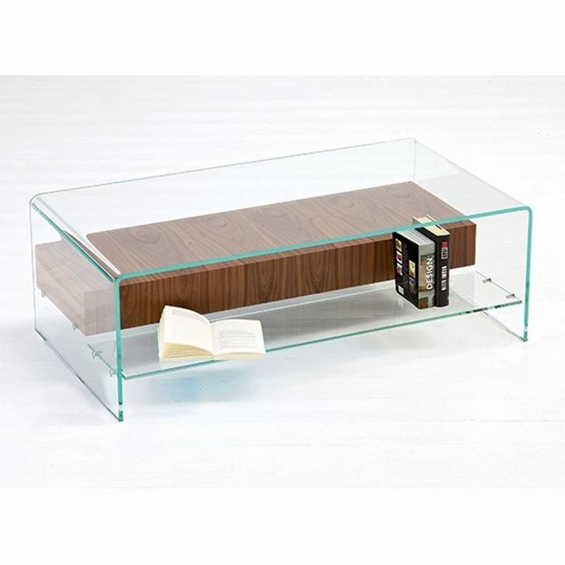Glass Coffee Table With Shelf Too Much Brown Furniture A National Epidemic Handmade Contemporary Furniture (Image 10 of 10)