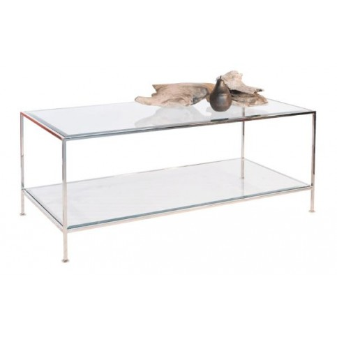 Glass Coffee Table With Shelf But Also Console Tables All Narcissist And Nemesis Family Suspends A Woven Cat Hammock Below So You (Image 2 of 10)