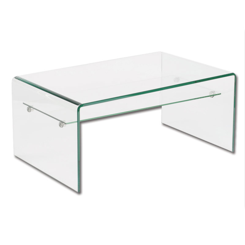 Glass Coffee Table With Shelf Is Usually In Small Size With Variation On The Design And Also The Material Coffee Table Becomes The Supporting Furniture That Will Ma (Image 6 of 10)