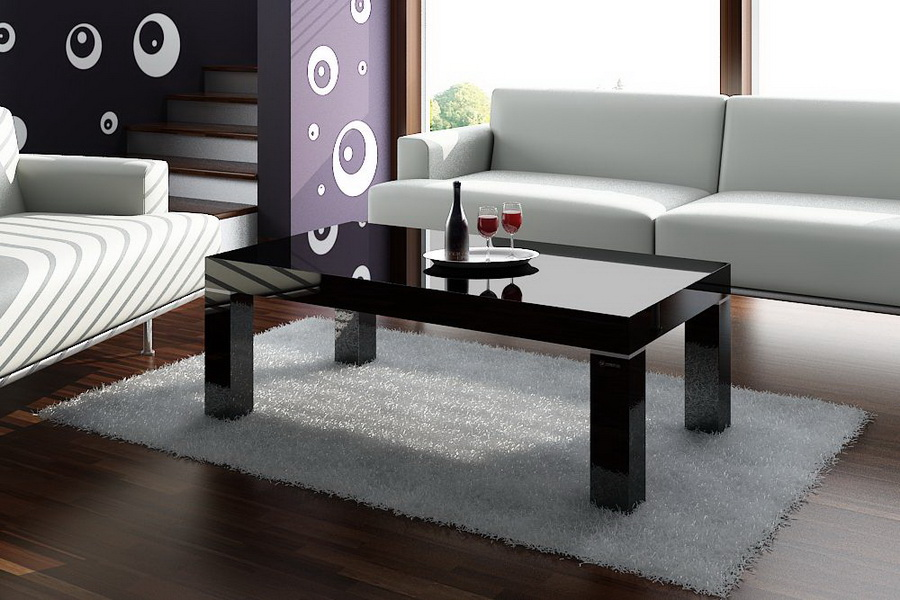 Glass Coffee Tables On Sale Is Usually In Small Size With Variation On The Design And Also The Material Coffee Table Becomes The Supporting Furniture That Will Ma (Image 4 of 10)