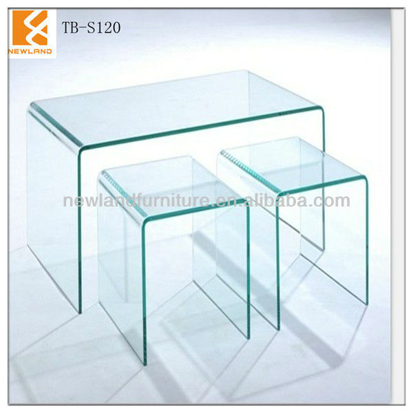 Glass Cube Coffee Table Foshan Newland Furniture Factory Modern Hot Bend Glass Cube Coffee Table Modern Coffee Table Lift Top (View 2 of 10)