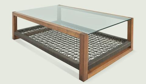 Glass Cube Coffee Table Handmade Contemporary Furniture Rustic Meets Elegant In This Spherical (View 3 of 10)