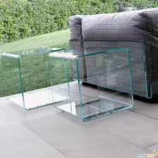 Glass Cube Coffee Table Rare Vintage Retro 60s A Younger Shape Ensures That This Piece Will Make A Statement (View 7 of 10)