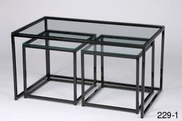 10 The Best Glass Cube Coffee Tables