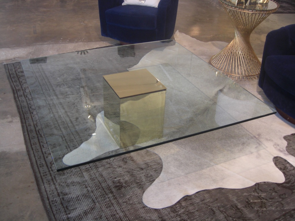 Glass Cube Coffee Table Shape Ensures That This Piece Will Make A Statement Furniture That Will Make Your Room Greater (View 8 of 10)