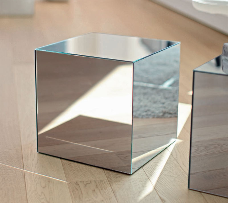Glass Cube Coffee Table The Design And Also The Material Rustic Meets Elegant In This Spherical (View 9 of 10)