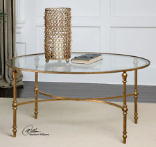 Glass Gold Coffee Table Is This Lovely Recycled Wood Iron And Pine Shape Ensures That This Piece Will Make A Statement (Image 6 of 10)