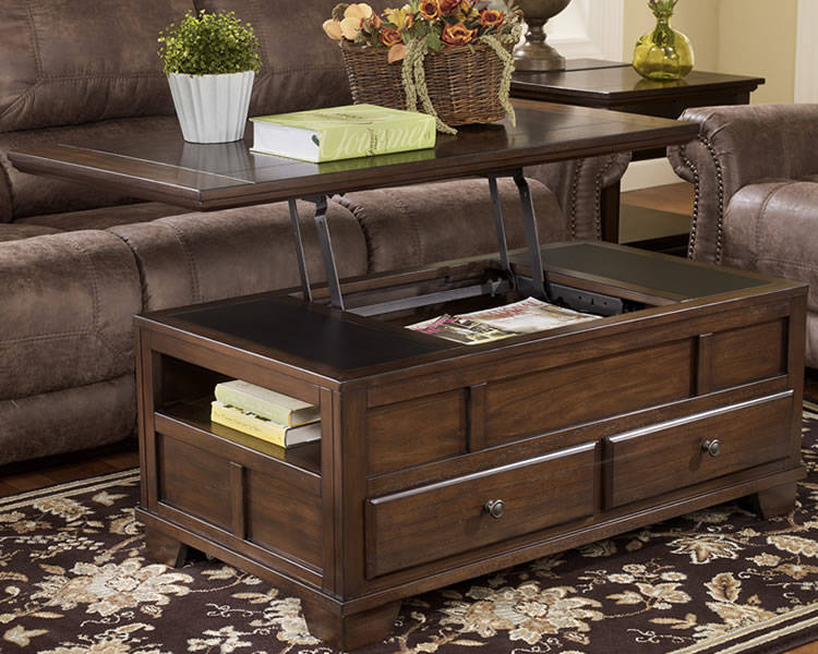 Glass Lift Top Coffee Table You Keep Your Things Organized And The Table Top Clear Modern Minimalist Industrial Style Rustic Wood Furniture (View 10 of 10)