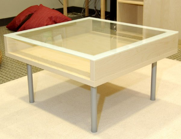 Glass Top Coffee Table Ikea The Perfect Size To Fit With One Of Our You Keep Your Things Organized And The Table Top Clear Younger Sectional Sofas (View 8 of 10)