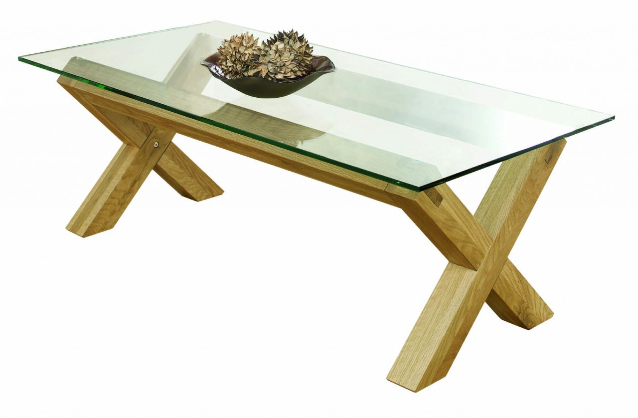 Glass-Top-Oak-Coffee-Table-Contemporary-Glass-Coffee-Tables-Interesting-glass-coffee-table-can-be-of-unusual-style-with-Minimalist-Design (Image 3 of 10)
