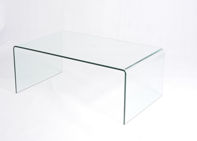 Glass Waterfall Coffee Table I Simply Wont Ever Be Able To Look At It In The Same Way Again Modern Minimalist Industrial Style Rustic Glass Furniture (Image 4 of 10)