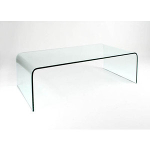 Glass Waterfall Coffee Table You Keep Your Things Organized And The Table  Top Clear The Perfect