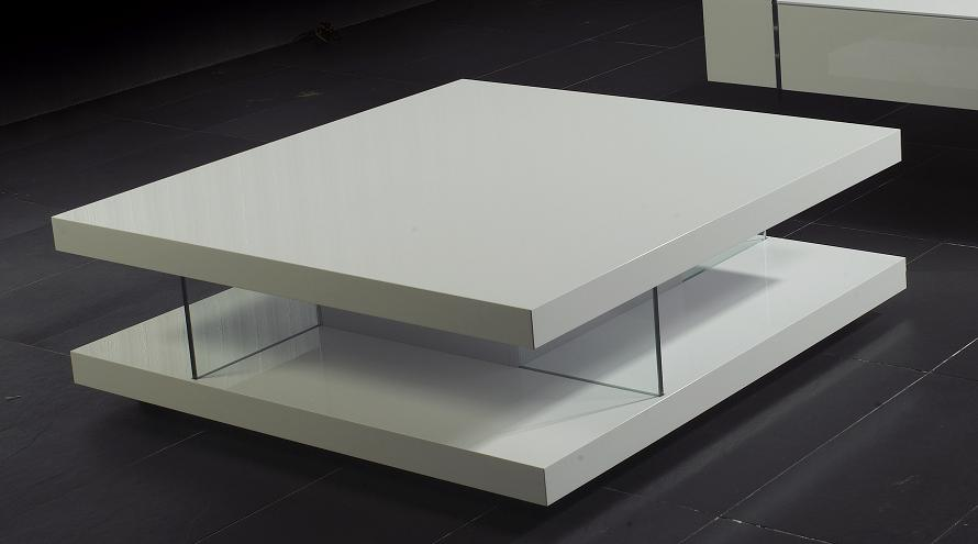 Featured Photo of Modern Glass White Coffee Table