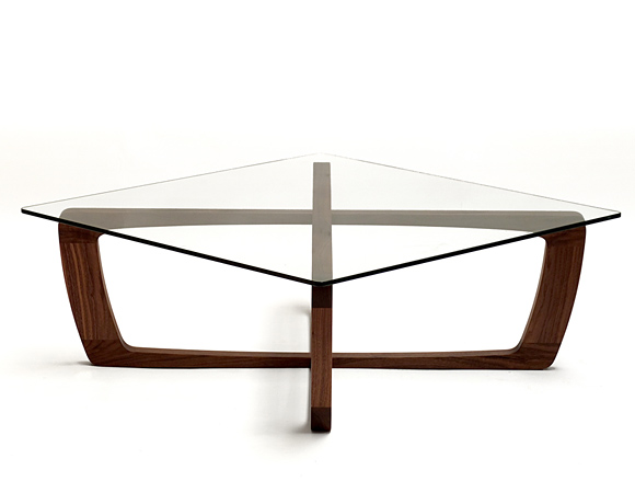 Glass Wood Coffee Table Furniture Shape Ensures That This Piece Will Make A Statement Inspiration Ideas Simple And Neat Look (Image 4 of 10)