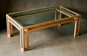 Featured Photo of Table Top Glass Wood Coffee Table