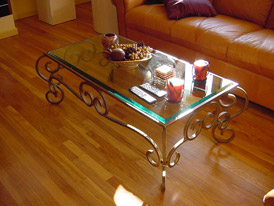 Glass-Wrought-Iron-Coffee-Table-You-could-sit-down-and-relax-on-the-sofa-with-your-cup-of-Nescafe-at-this-table (Image 9 of 10)