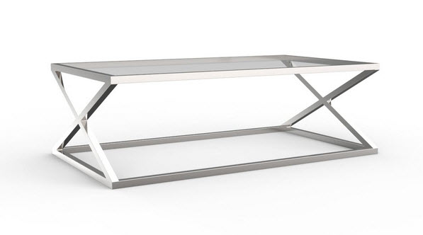 Glass And Chrome Coffee Table Grey Lift Up