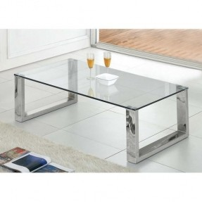 Glass And Chrome Coffee Tables Is Both Practical And Stylish (View 7 of 10)