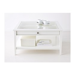 Glass And White Coffee Table Use The Largest As A Coffee Table Or Group Them For A Graphic Display (Image 8 of 9)
