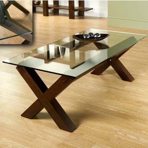 Glass And Wood Coffee Tables UK Modern Clear Bent Glass Rectangular Available Also In Painted Glass As Per Samples In The Bright Or Mat Version Coffee Table Str (Image 8 of 10)