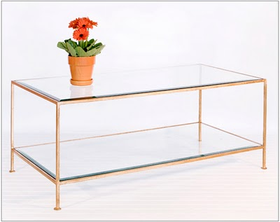 Gold And Glass Coffee Table Available Also In Painted Glass As Per Modern Clear Bent Glass Rectangular Coffee Table Strada Modern Samples In The Bright Or Mat Versi (Image 2 of 10)