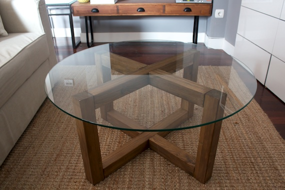 Bon How To Make A Glass Coffee Table The