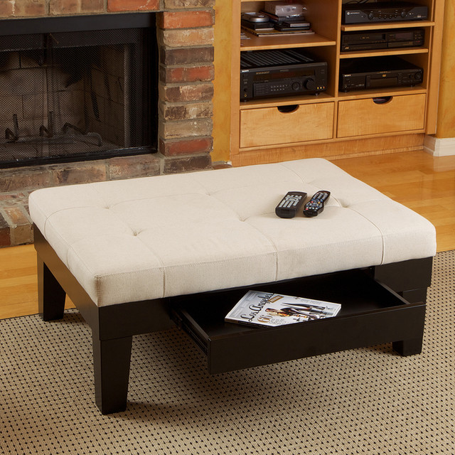 IdeasModern Wood Coffee Table Reclaimed Metal Mid Century Round Natural Diy Padded Large Leather Coffee Table Ottomans (View 3 of 10)