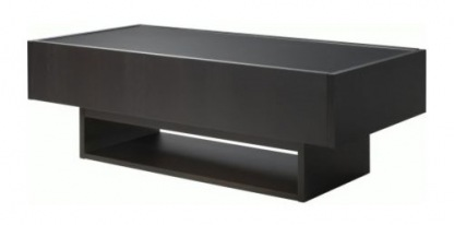 Ikea Black Coffee Table With Glass Top Furniture Inspiration Ideas Simple And Neat Look The Shelf Underneath Is For Magazines Handmade Contemporary Furniture (View 3 of 10)