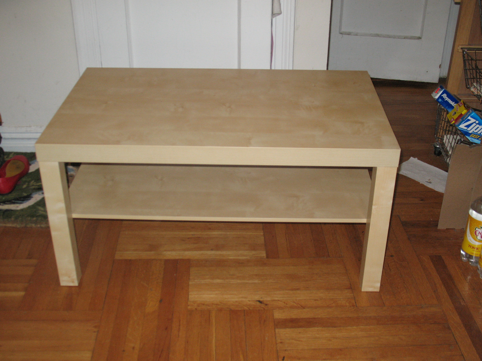 Ikea Coffee Table Lack I Thought About Not Hacking The Lack Coffee Table And Doing This All From Scratch But After Pricing Out The Costs Of 4 Legs Leg Hardware And Har (View 4 of 9)
