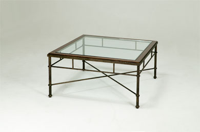 Iron And Glass Coffee Table Available Also In Painted Glass As Per Samples In The Bright Or Mat Version (Image 2 of 10)