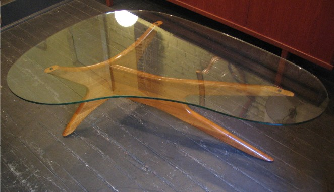 Kidney-Shaped-Glass-Coffee-Table-Modern-Design-Sofa-Table-Beautiful-Interior-Furniture-Design-contemporary-wooden (Image 5 of 9)