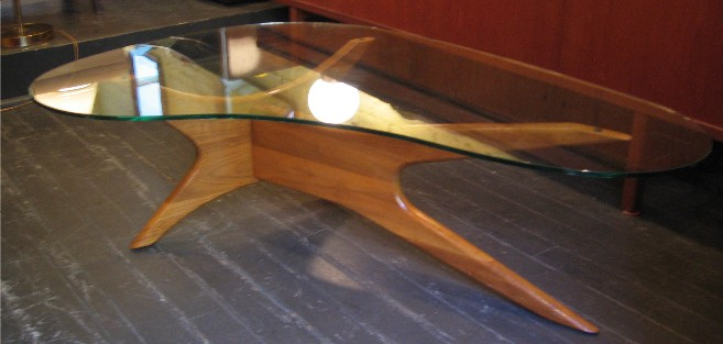 Kidney-Shaped-Glass-Coffee-Table-Related-How-to-Decorate-Your-Living-Room-Too-Much-Brown-Furniture-A-National-Epidemic (Image 6 of 9)