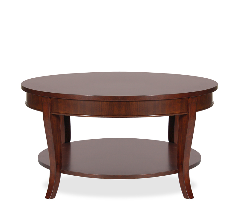 Lincoln-Coffee-Table-Newberry-Round-Coffee-Table-traditional-coffee-tables (Image 3 of 10)