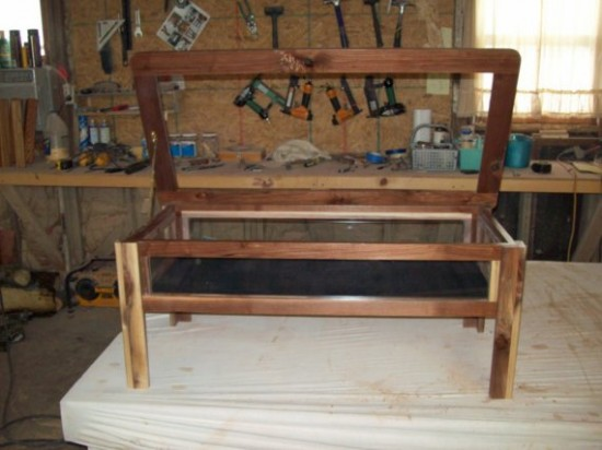 Low Modern Coffee Tables Find A Coffee Table Like The One Pictured Above From Etsy Seller Zandswoodwork That Also Doubles As A Display Cabinet (Image 2 of 7)