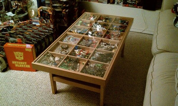 Low Modern Coffee Tables Storage Compartments May Be Made Of Marble Or Other Unique Materials (View 3 of 7)