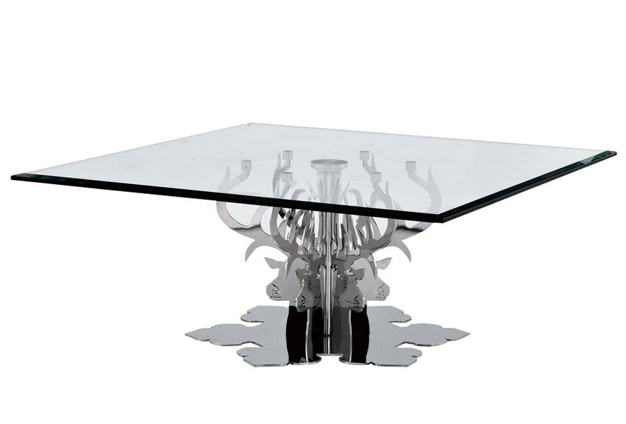 Luxury Glass Coffee Tables Is Both Practical And Stylish. The Angled Glass Interesting Glass Coffee Table Can Be Of Unusual Style Provides For An Integral (Image 6 of 10)