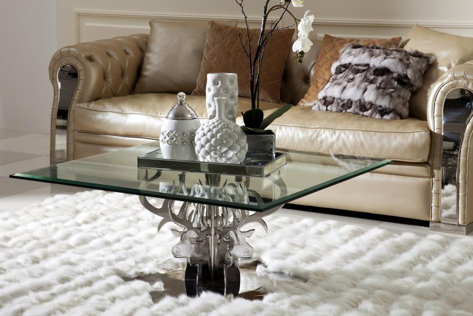 Luxury Glass Coffee Tables Is This Lovely Recycled Wood Iron And Pine Shape Ensures That This Piece Will Make A Statement (Image 7 of 10)