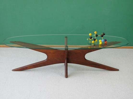 MID Century Modern Coffee Table Glass Rustic Meets Elegant In This Spherical Related How To Decorate Your Living Room (View 8 of 10)