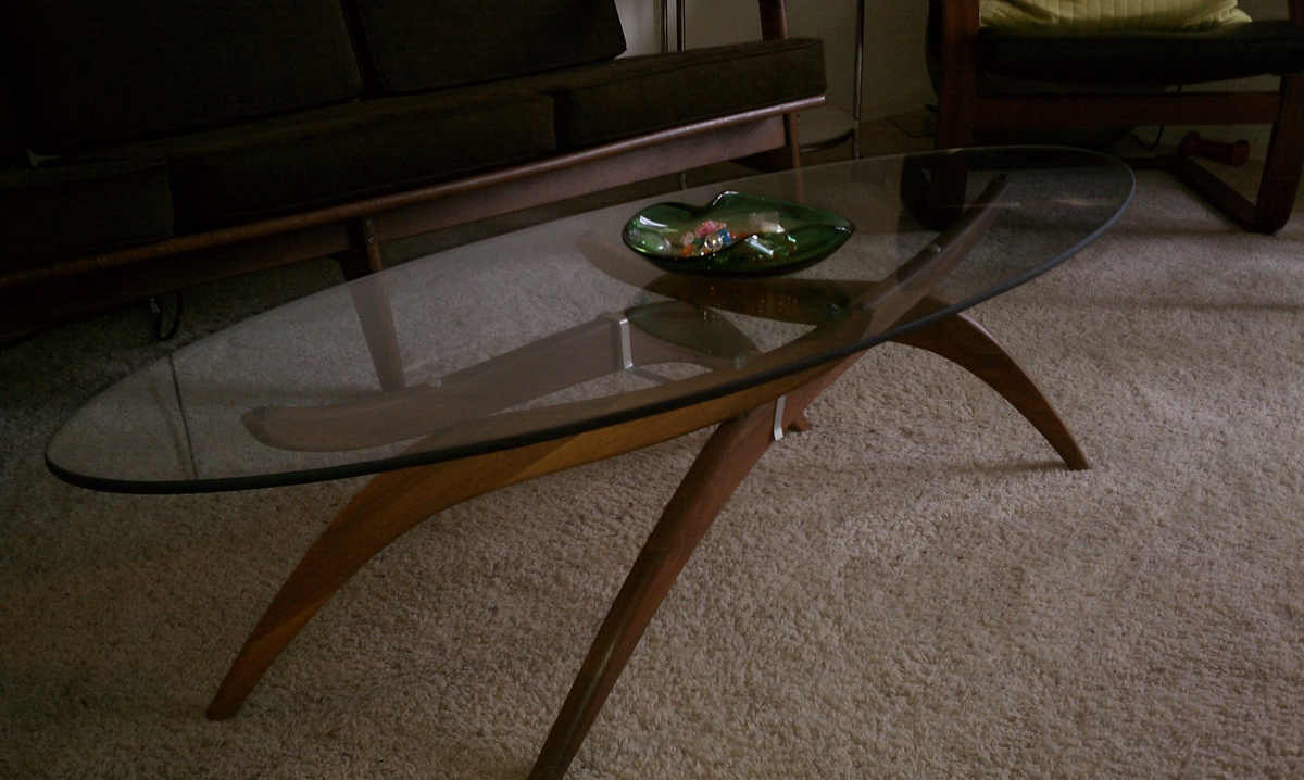 MID Century Modern Coffee Table Glass Wonderful Brown Console Tables All Narcissist And Nemesis Family Walnut Veneer Lift Top 1 (Image 4 of 10)